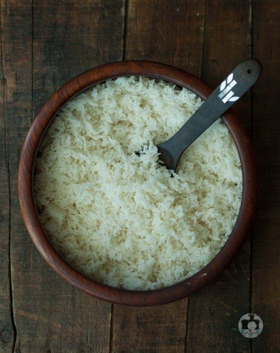 Filipino-beloved kanin or steamed jasmine rice
